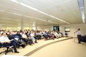 O workshop reuniu empresários de diversos setores, com destaque para a Construção Civil