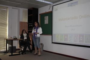 Oficina sobre Voluntários Online