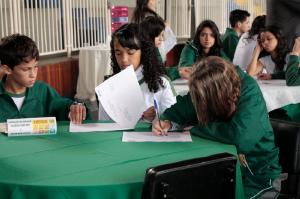 Círculo de Diálogos c/ o Colégio Sesi -Realizado dia 31/03 no Centro Cívico