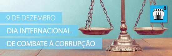 9 de dezembro - Dia Internacional de Combate � Corrup��o