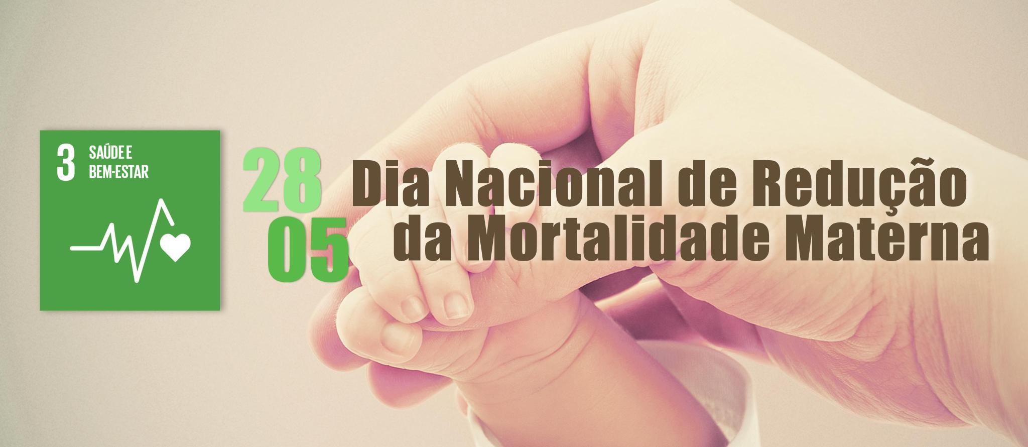 Dia Nacional de Redu��o da Mortalidade Materna - ODS 3