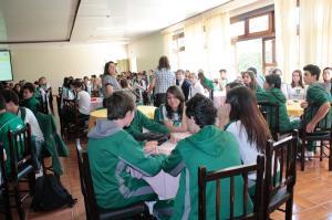 Círculo de Diálogos Colégio Sesi - Realizado dia 08/04 em Ponta Grossa