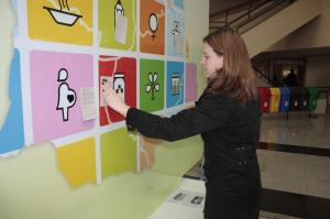 Painel para os Centros de Voluntários