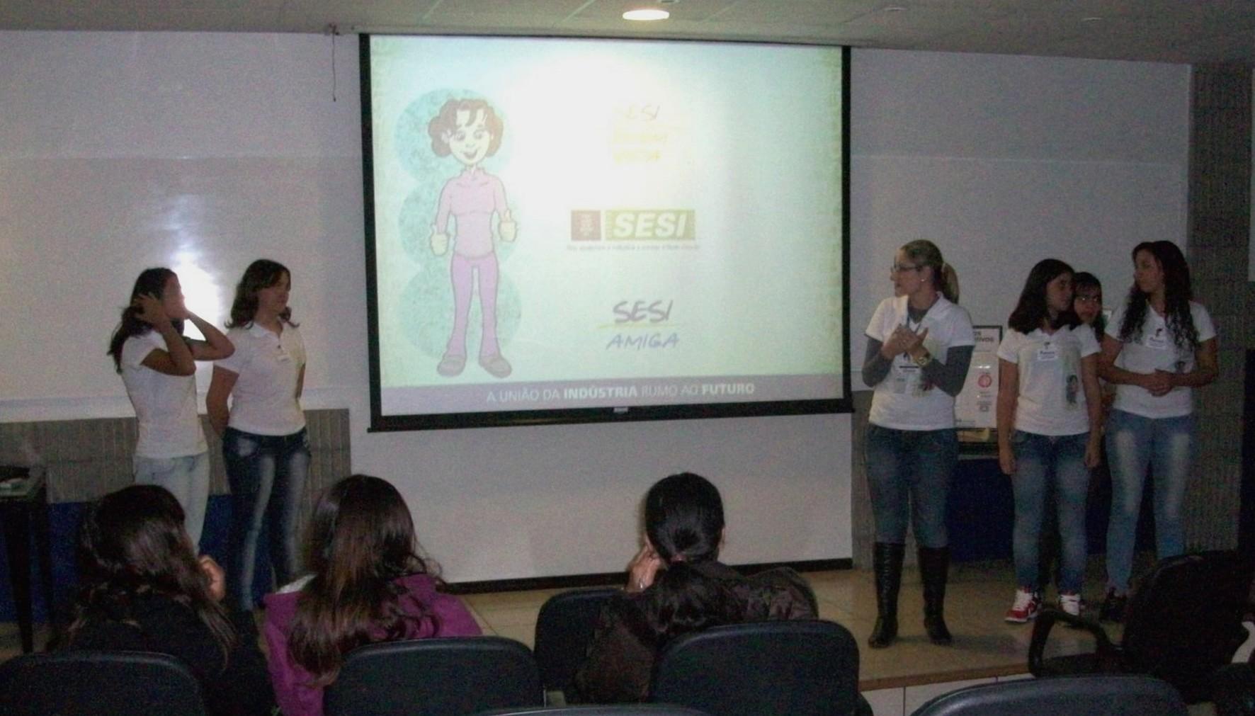 Em Rio Branco do Sul, foi trabalhado o objetivo 5 ? Melhorar a saúde da gestante