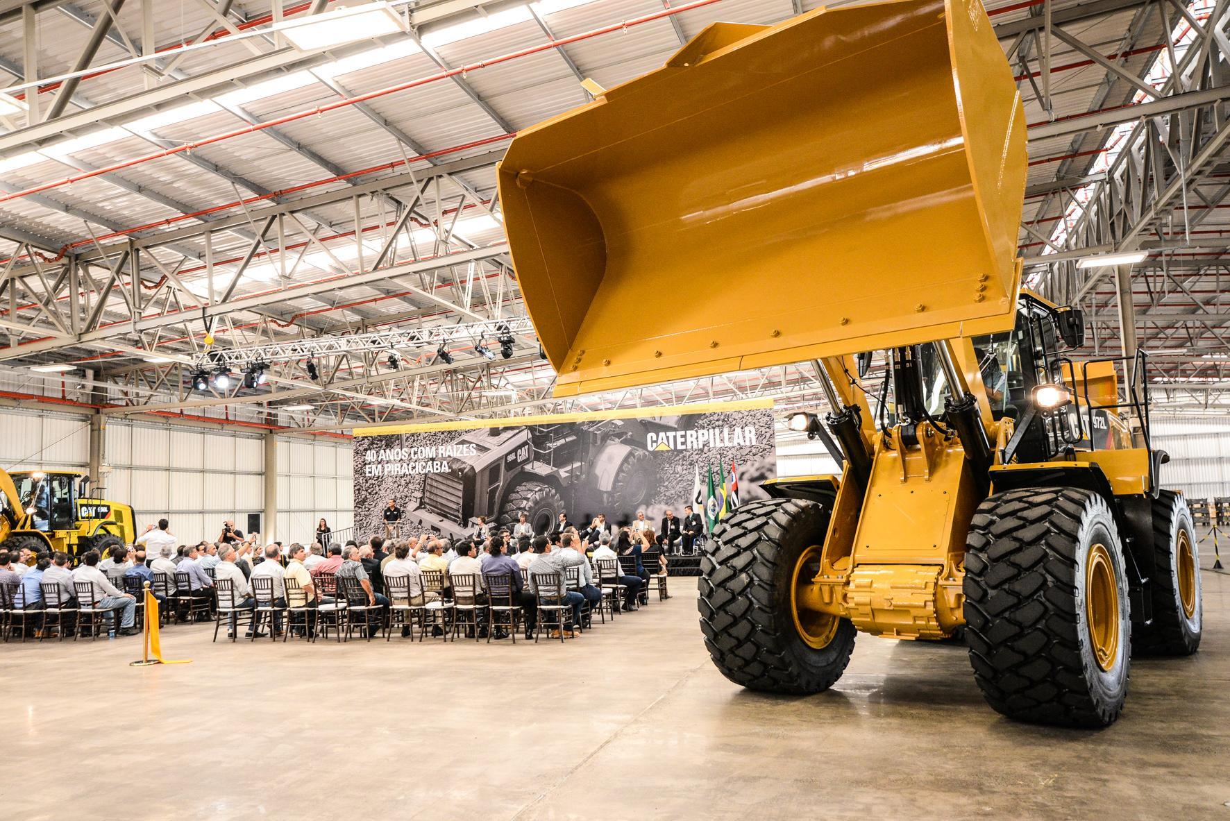 Resultado de imagem para Caterpillar investe em novas linhas de produção em SP