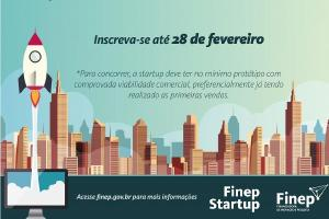 Segunda Rodada de Investimentos Edital Programa Finep Startup