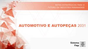 Roadmap Automotivo e Autopeças 2031