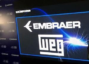 WEG e Embraer firmam parceria em propulsores elétricos
