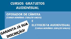 OPERADOR DE C�MERA E ELETRICISTA AUDIOVISUAL