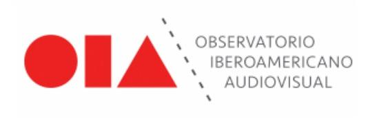 Está no ar a página do Observatório Iberoamericano do Audiovisual (OIA) na internet