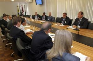 Reunião com Deputado Estadual Stephanes Junior