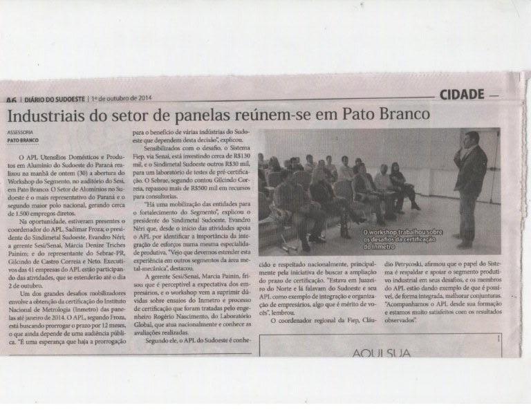 WORKSHOP APL EM PATO BRANCO