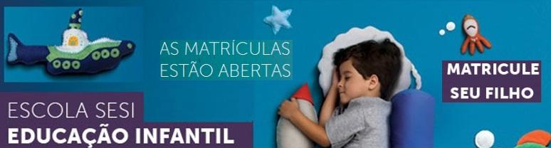 MATRICULAS EDUCAÇÃO INFANTIL
