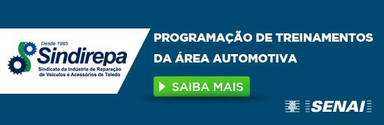 Programação de treinamentos da área automotiva