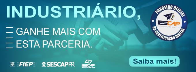 Parceria Sindmadeira & Sescap - Certificado Digital
