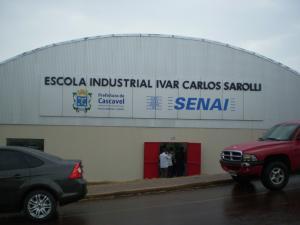 Inauguração da Escola Industrial Ivar Carlos Sarolli